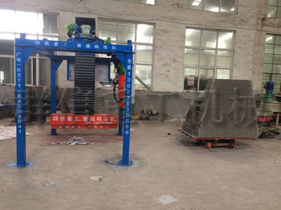 hui砂砖码坯机械shou